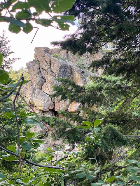 Peekaboo rocks