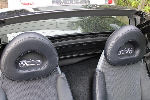 Smart Roadster leatherlook headrest inlays inserts fits all roadster 452 models various options