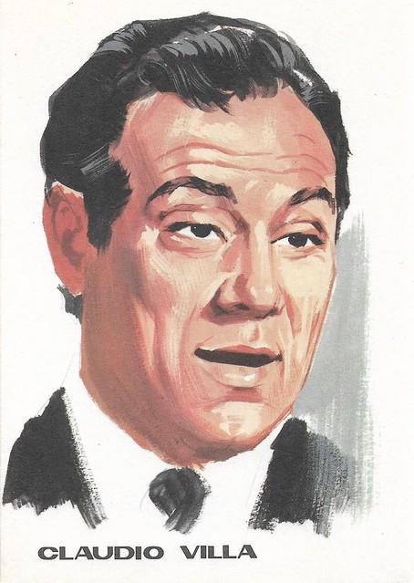 Claudio Villa, portrait by F. Picchioni