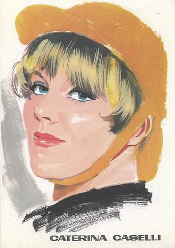 Caterina Caselli, portrait by F. Picchioni