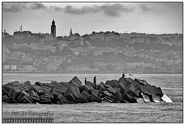 Fishermen in Tangier