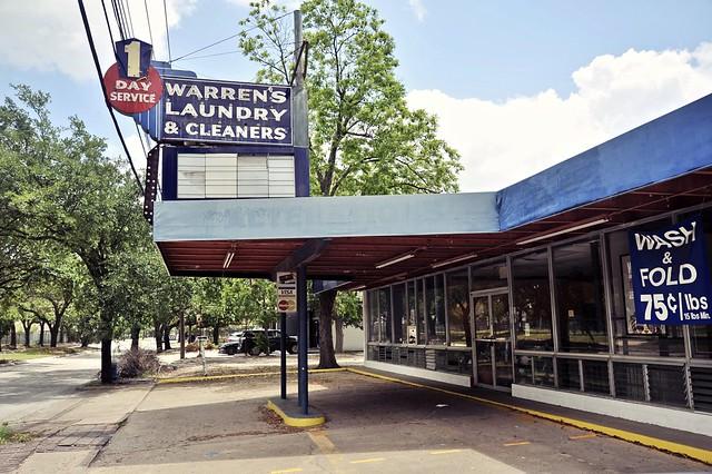 Warren's Laundry & Cleaners - Houston, Texas