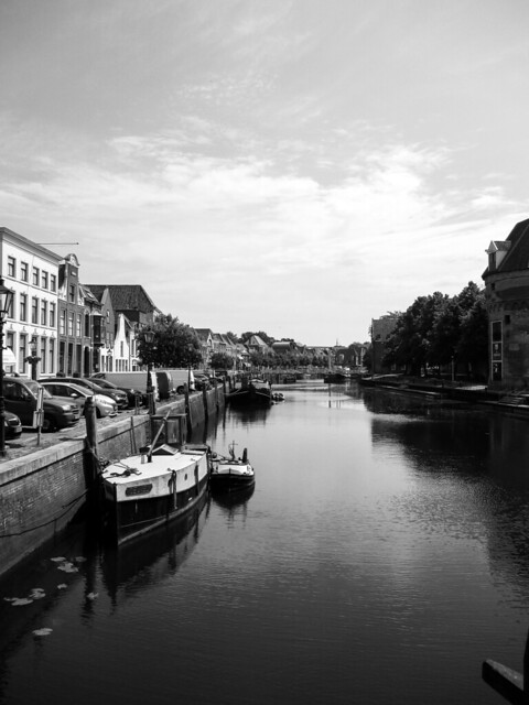 My view on the City Canal Zwolle.