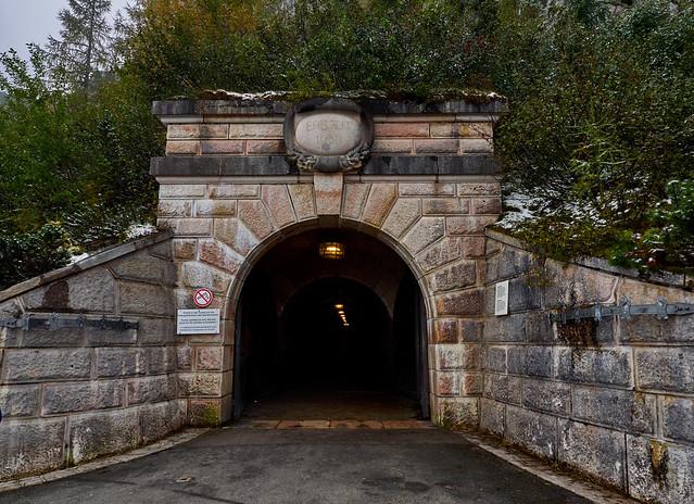 entrance to Eagle's Nest