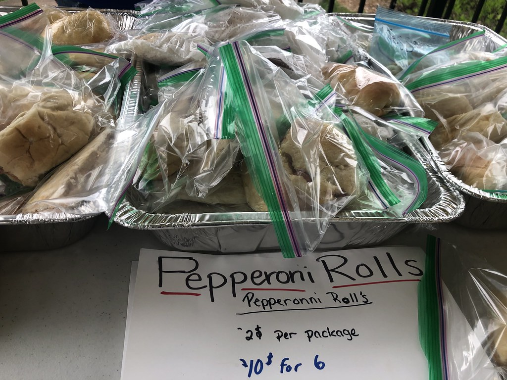 Pepperoni Roll Championship at WV State Folk Festival