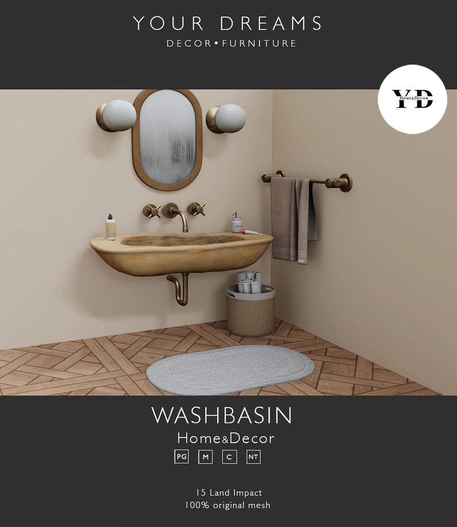 {YD}Washbasin