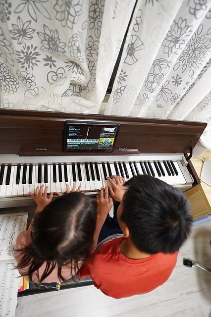 Self-teach piano