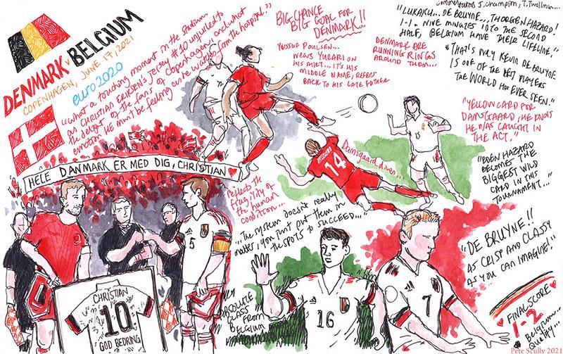 Euro 2020 DEN-BEL