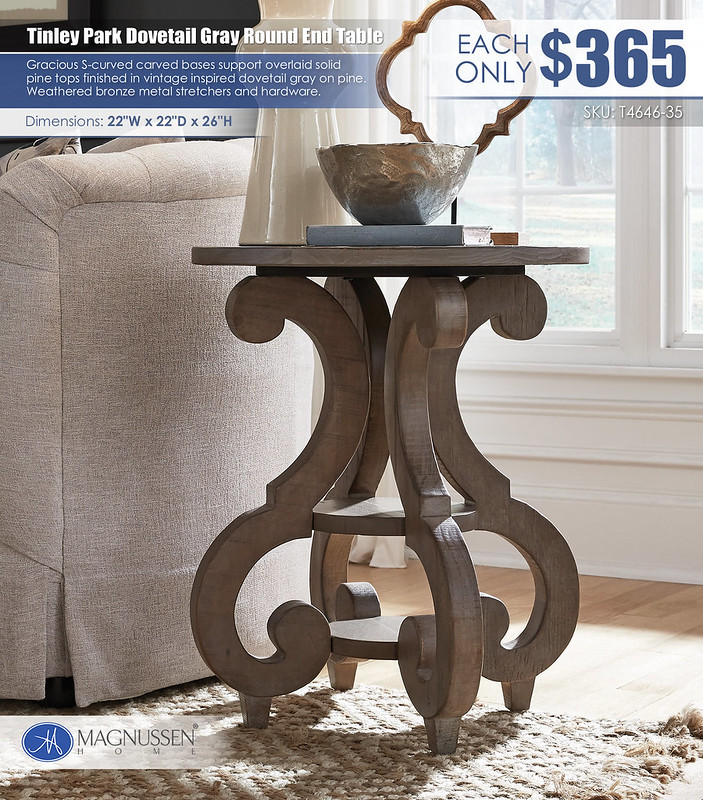 Tinley Park Dovetail Gray End Table_T4646-03_June2021