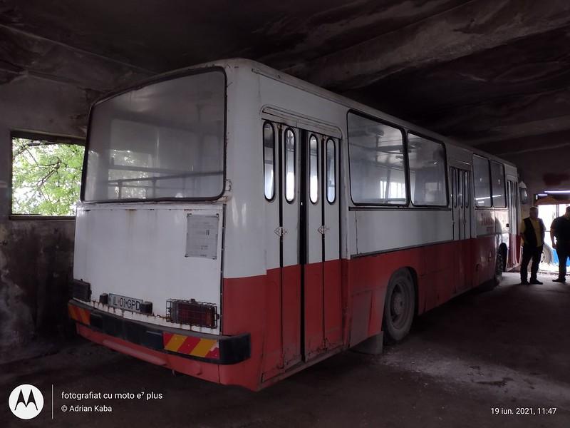 Autobuzul Ikarus 260 #IL01GPD (ex. BVG Berlin)