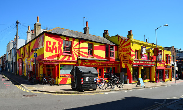 Brighton GAK Guitar Shop