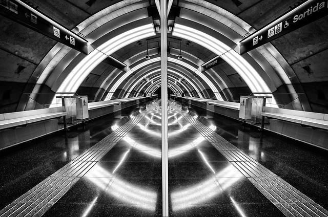 Estación de metro, Barcelona