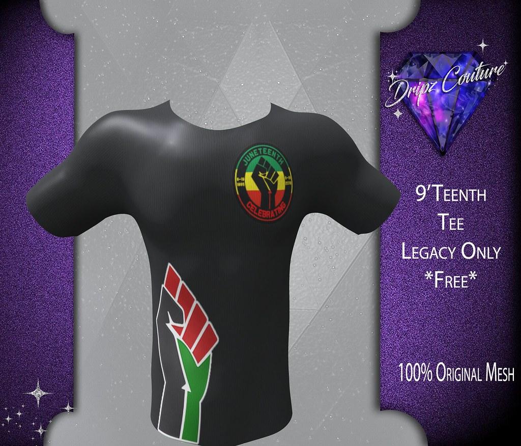 Legacy Male – 9'Teenth Tee – Free