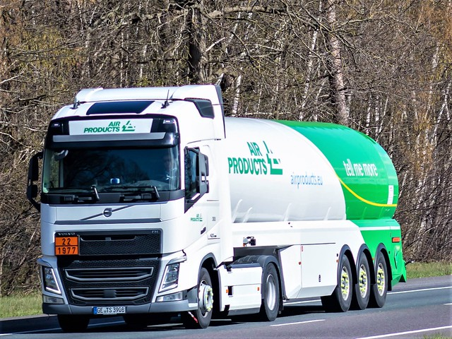Volvo FH4 globetrotter, from Schenk/ Airproducts, Germany.