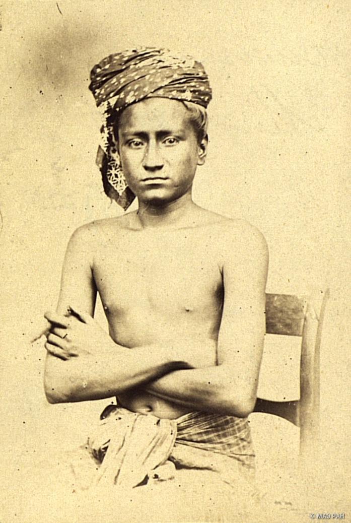 10. Портрет мужчины. Сингапур