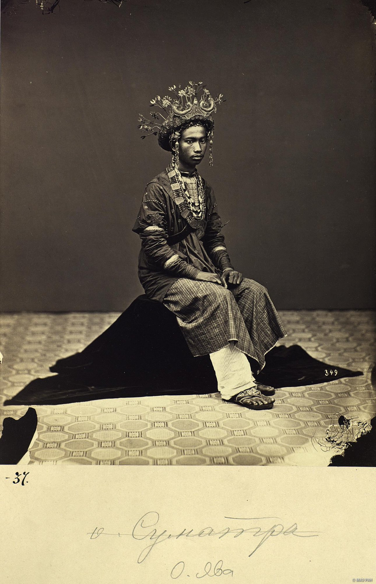 03. Портрет молодого человека в костюме жениха. Ява