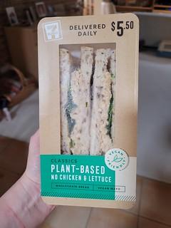 7-11 Vegan Chicken Salad Sandwich