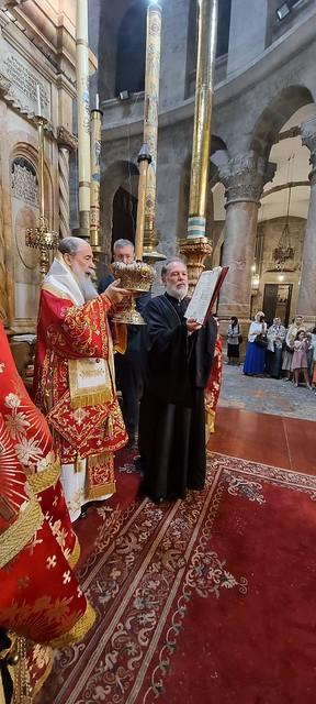 20 июня 2021 Празднование Дня Святой Троицы в Иерусалиме