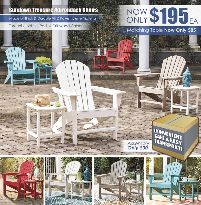 Sundown Treasure Adirondack Chairs GROUP_P011-P012-P013-P014-898-703_June2021