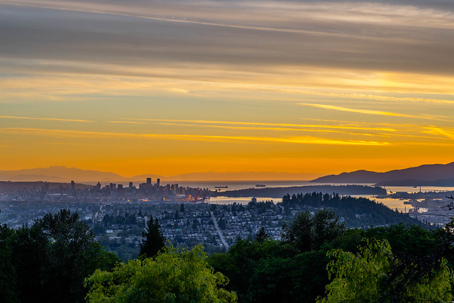 Vancouver from Burnaby Mountain