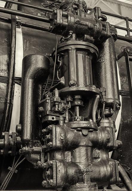 Technik Museum Speyer: Preußische Güterzuglokomotive G8.1 / Baureihe 55