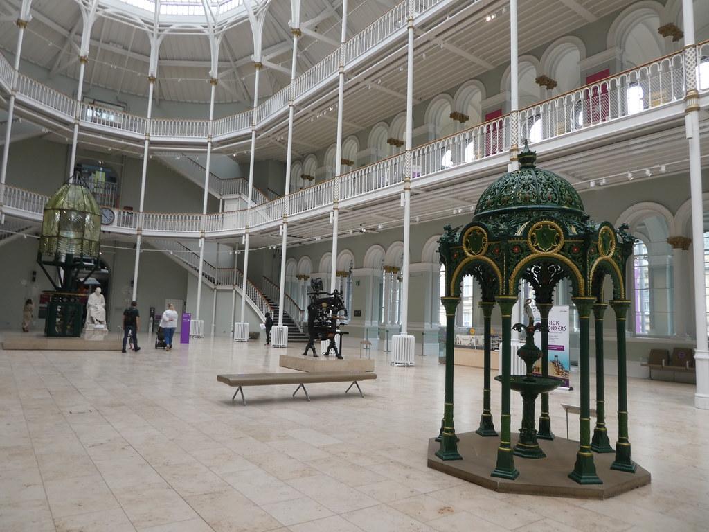 The Grand Hall, National Museum of Scotland, Edinburgh