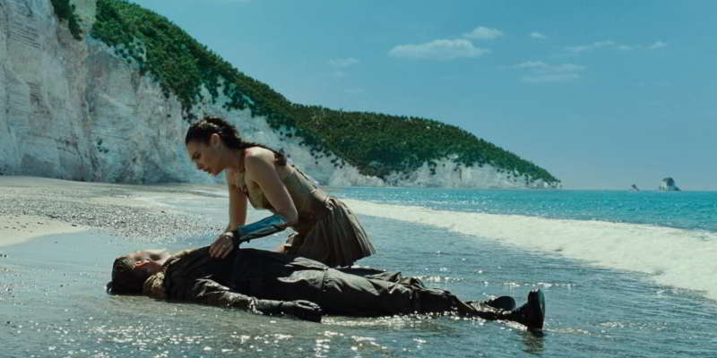 Wonder Woman beach
