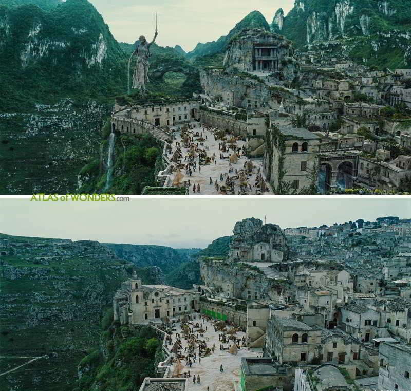 Wonder Woman City in Themyscira
