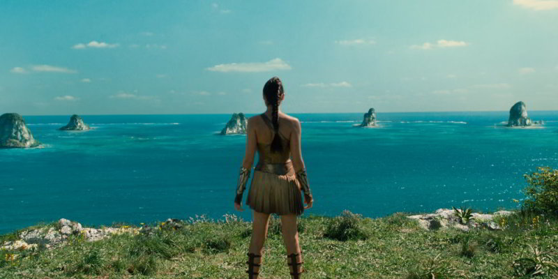 Themyscira Island location