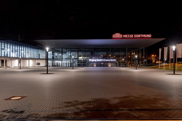 Entrance North of Messe Dortmund