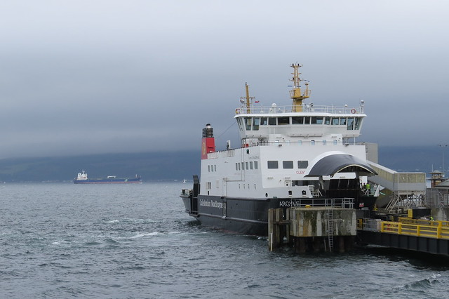 MW Falcon and Argyle berthed at Wemyss Bay