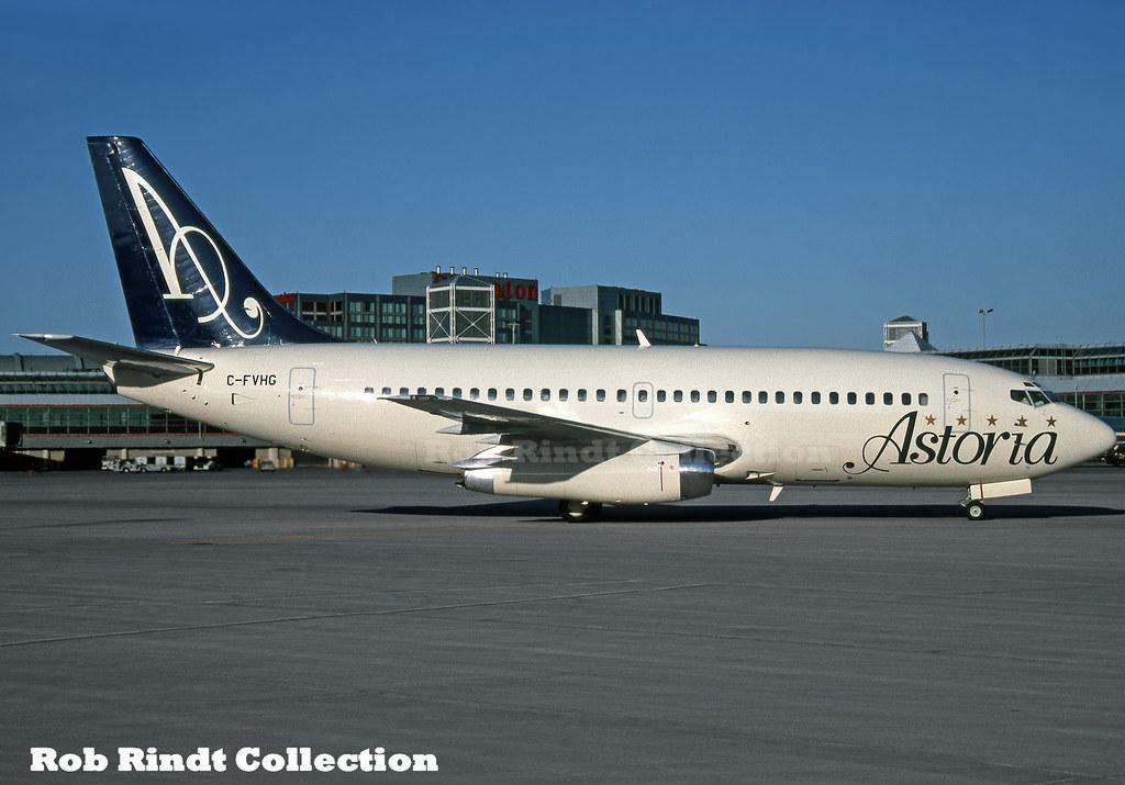 Astoria Airlines B737-275 C-FVHG