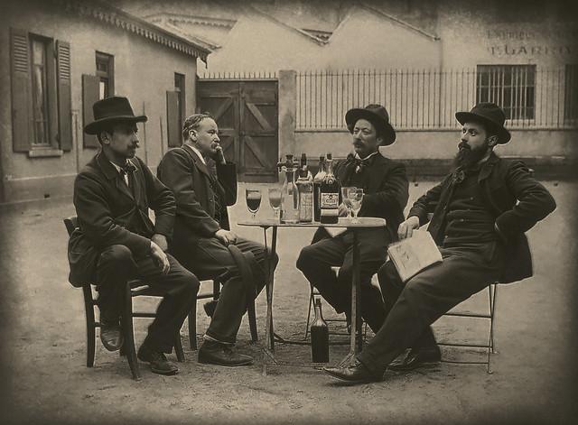 L'apéritif - Lyon (1896)