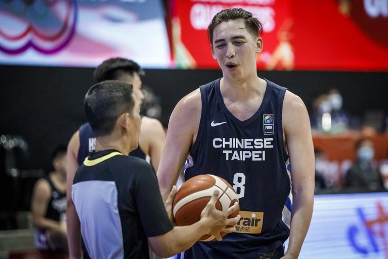 譚傑龍。(圖/FIBA提供)