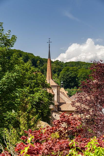 Romainmotier, abbaye