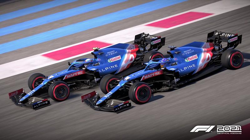 F1 2021 Alpine F1 Team