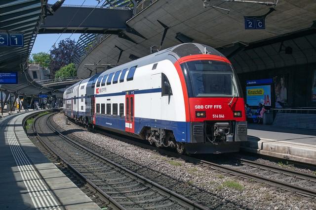 SBB RABe 514 046 Zürich Stadelhofen