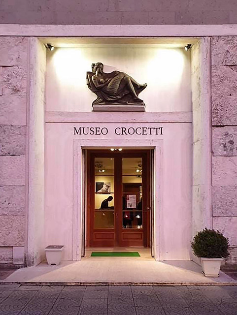 My Art Exhibition in Rome, Italy (Museo Crocetti)