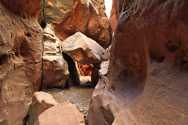 USA - Utah - Little Wild Horse Canyon