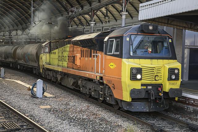 Colas Rail Class 70 70807