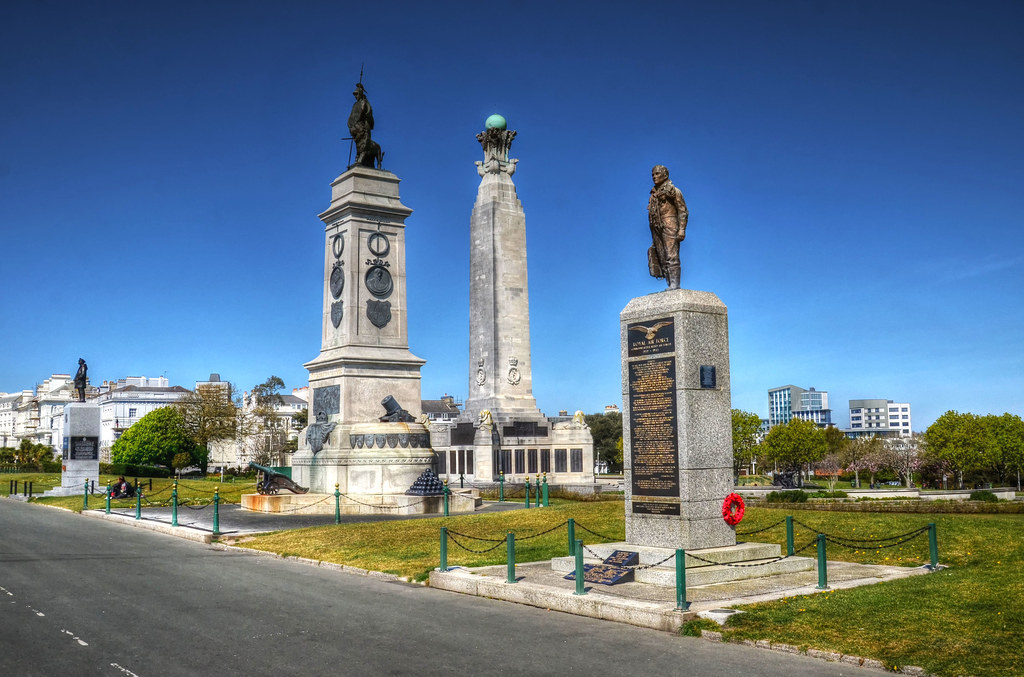 Memorials on Plymouth Hoe