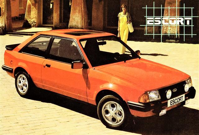 1981 Ford Escort (U.K.)