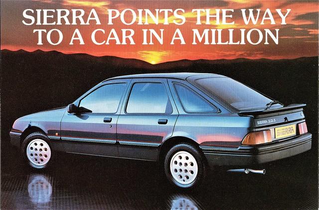 1985 Ford Sierra 2.0iS (U.K.)