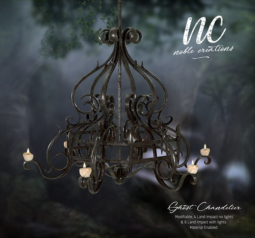 [NC] - Ghost Chandelier - NEW GIFT - SL18B