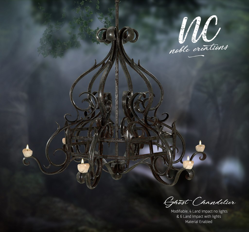 [NC] – Ghost Chandelier – NEW GIFT