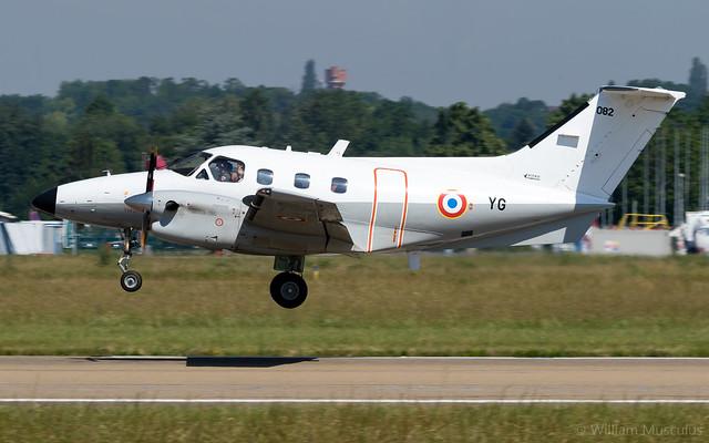Embraer EMB-121 Xingu F-TEYG Armée de l'Air