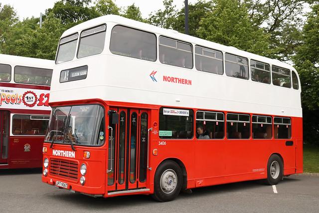 Northern: 3406 JPT906T Bristol VRT/ECW
