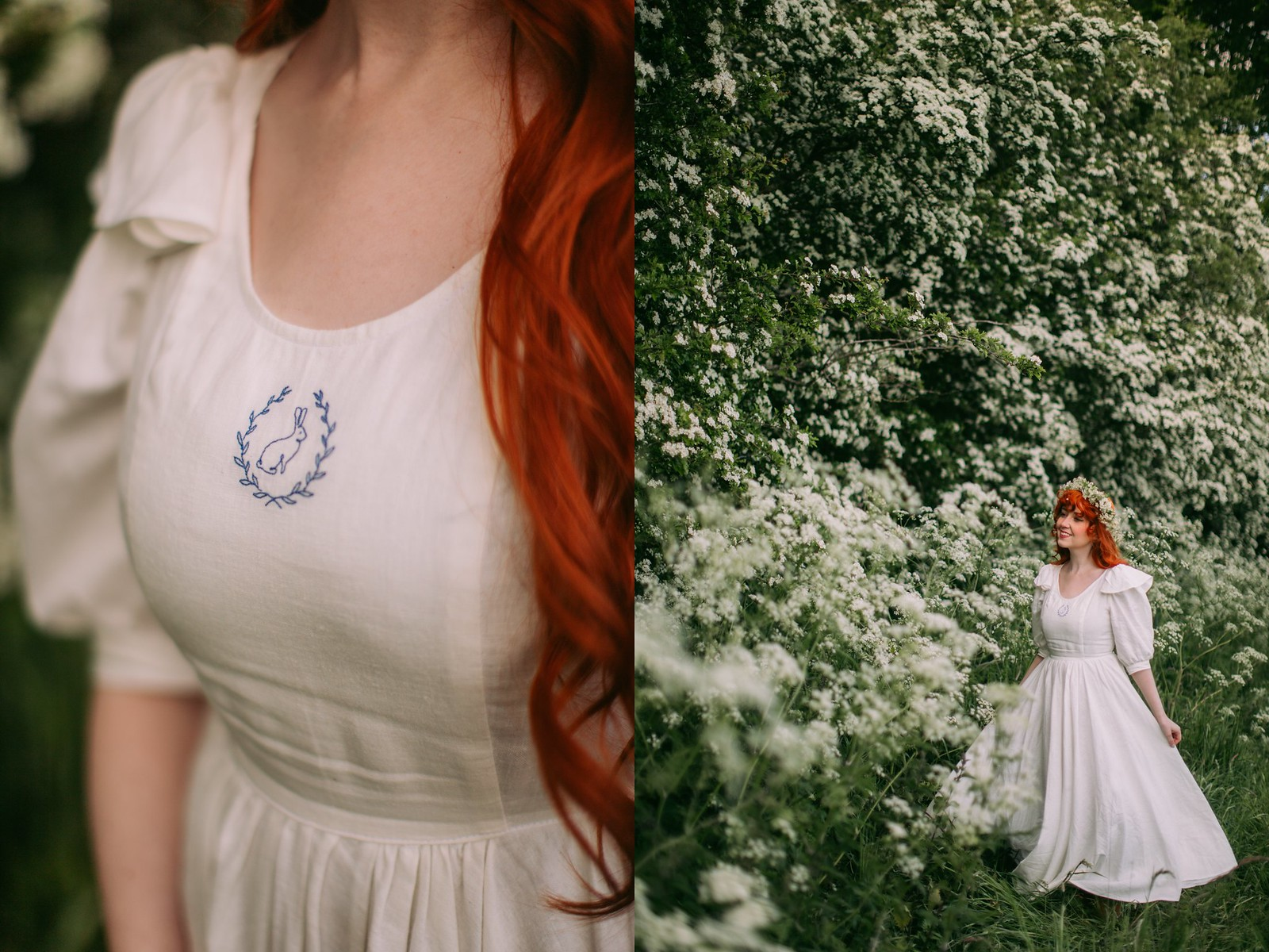 nour and the merchant,ethical fashion,cottagecore dress, cottagefairy, cottagecore aesthetic, irish cottagecore