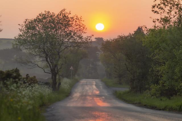 Sun Rise Derbyshire