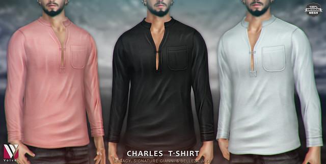 Volvér - Charles T-shirt